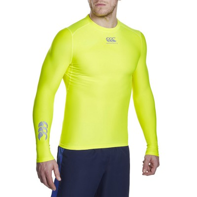 BASELAYER THERMOREG FLURO MANCHES LONGUES