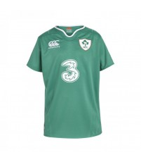 IRELAND HOME PRO S/S RUGBY JR - BOSPHORUS