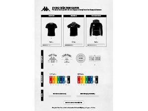 Fiche création T-shirt RIETI Kappa